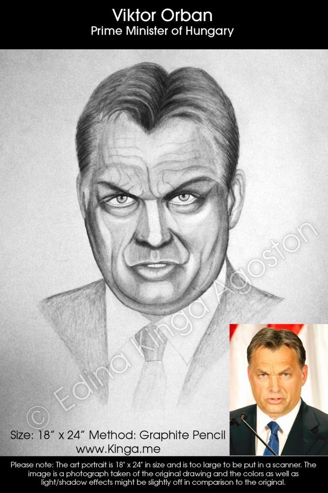 Viktor Orbán by Kinga